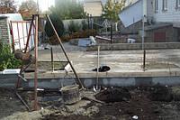 Выгребная яма из бетонных колец в частном доме г.Борисполь