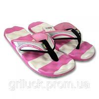 Шлепанцы женские массажные на палец Kito розовая/белая, 37