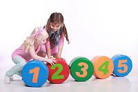 "Детский спортивно-игровой тренажер ""Пяточки"" MMDT2 (размер 3 х 0,3 х 0,15 м) ТМ Kidigo"