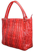 Женская сумка из кожи морской змеи