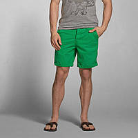 "Ярко-зеленые шорты ""Preppy Fit""  Abercrombie&Fitch, фото 1"
