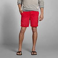 "Ярко-красные шорты ""Preppy Fit"" Abercrombie&Fitch, фото 1"