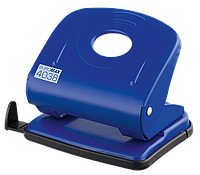 Дырокол металлический, 30л., синий bm.4038-02