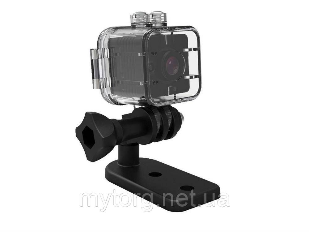 Экшн-камера ночного видения SQ12 HD 1080 водонепроницаемая