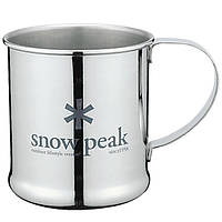 Кружка Snow Peak Stainless Steel 300 Cup 300ml