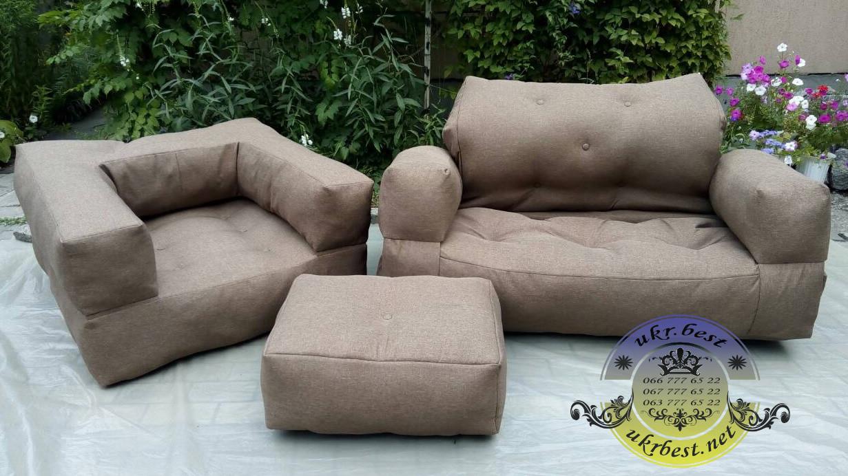 """Комплект мягкой мебели, диван-кровать """"Хиппо"""" и кресло-кровать """"Классик"""""""