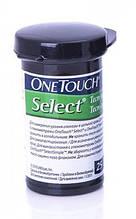 Тест-полоски One Touch Select №25 Ван Тач Селект (один флакон) 25шт