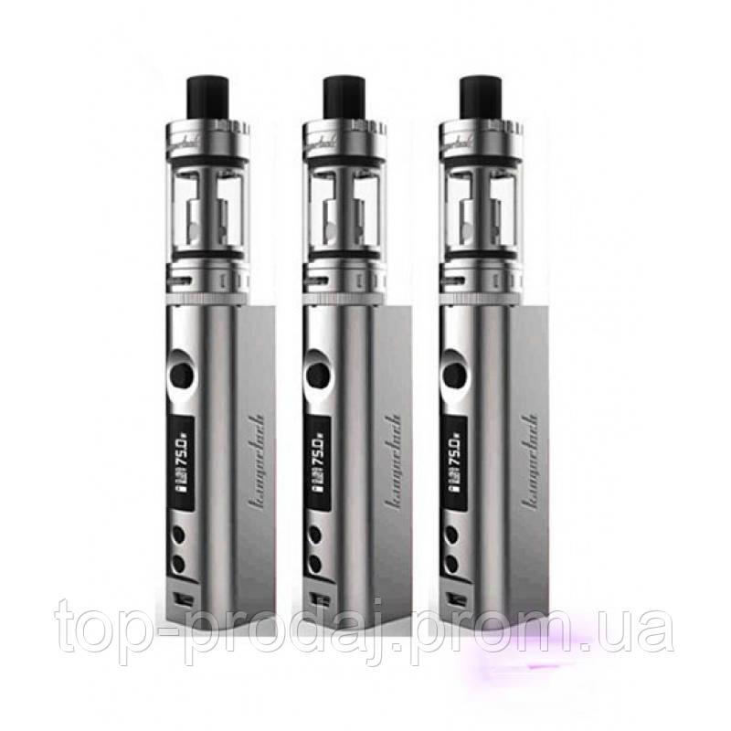 Электронная сигарета TOPBOXmini Silver, Электронный кальян, Стильная сигарета, Vape, Испаритель