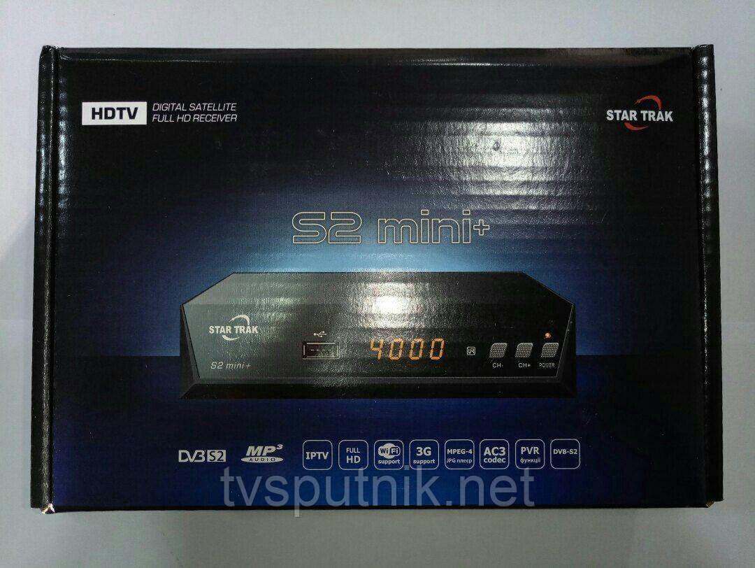 Спутниковый ресивер Star Trak HD S2 Mini +  (прошитый с каналами)