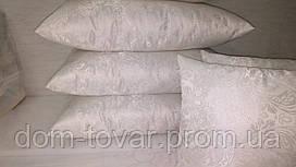 Подушка под наволочку 70х70 (жакард, холлофайбер)