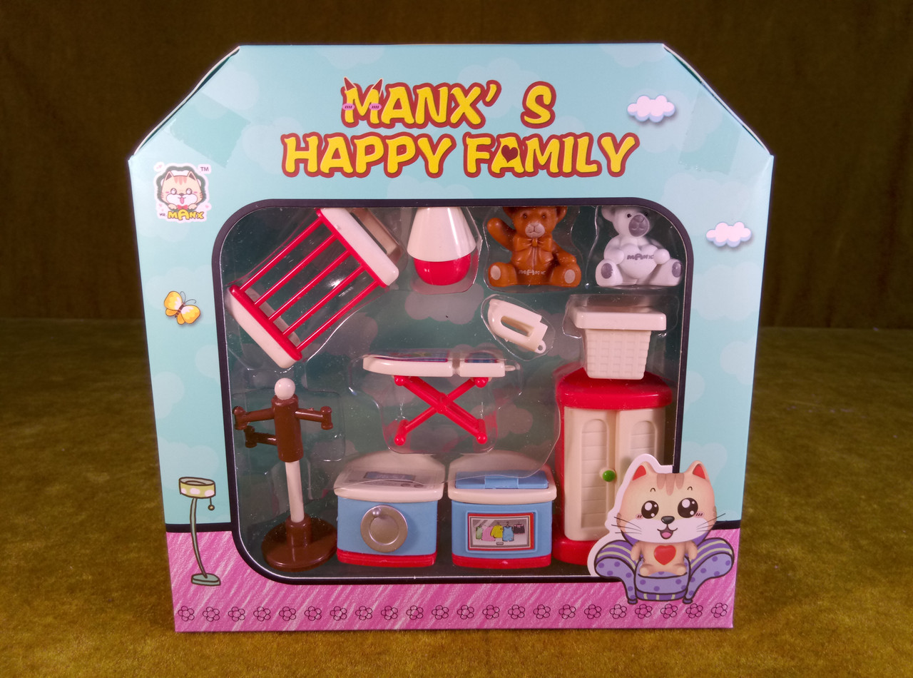 Кукольная мебель прачечная