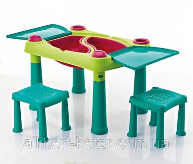 Столик з двома сидіннями CREATIVE PLAY TABLE (Keter)