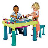 Столик з двома сидіннями CREATIVE PLAY TABLE (Keter), фото 3
