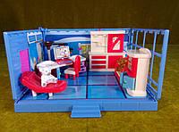 """Кукольная мебель """"комната """" Рабочий кабинет"""""""