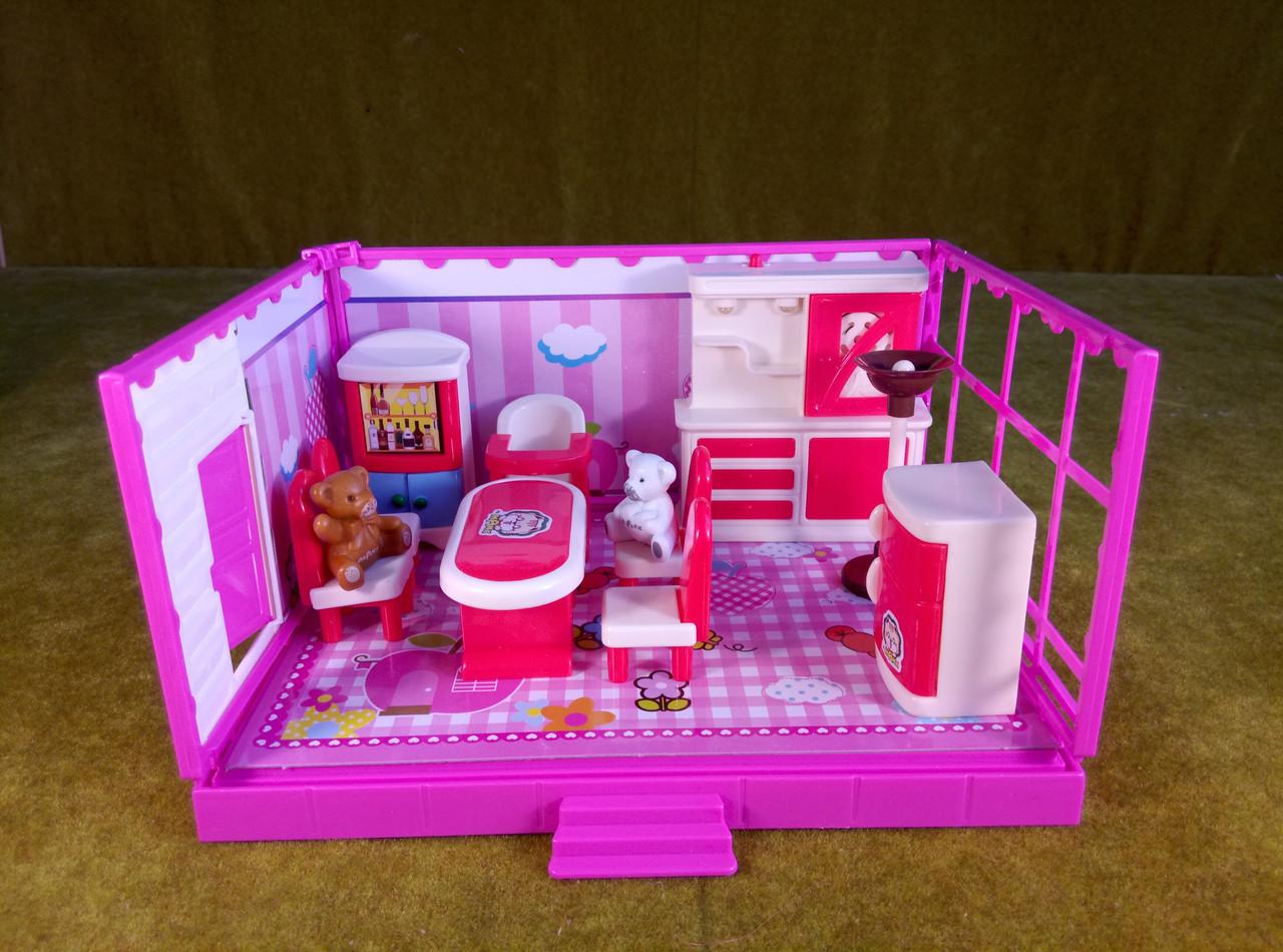"Кукольная мебель ""комната "" Столовая, кухня"", для ЛОЛ"