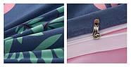 Комплект постельного белья Большой фламинго (двуспальный-евро) Berni, фото 4