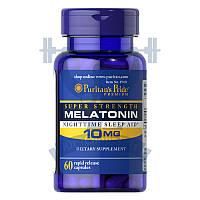 Puritan's Pride Melatonin мелатонин для нормализации сна и циркадных ритмов для крепкого сна снотворное