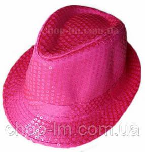 "Шляпа ""Диско"" (розовая с блестками), фото 2"