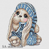 Набор для вышивания крестом Зайка Гномик мальчик З025, фото 2