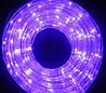 """Новогодняя светодиодная гирлянда, Шланг """"Дюралайт"""" светодиодный фиолет"""