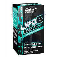 Nutrex Lipo 6 Black Hers Ultra concentrate жиросжигатель для похудения снижения веса сушки спортивное питание