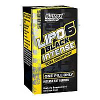 Nutrex Lipo 6 black intense Ultra Concentra жиросжигатель для похудения снижения веса сушки спортивное питание