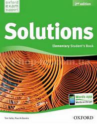 Solutions Elementary 2nd (Second) Edition Student's Book (учебник по английскому языку 2-е издание)