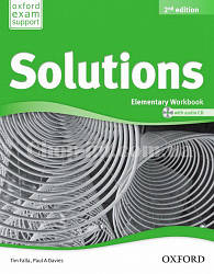 Solutions Elementary 2nd (Second) Edition Workbook with Audio CD / Рабочая тетрадь с диском