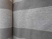 Льняная плотная ткань в полоску - для сумок, чехлов, обивки стульев (шир. 50см)
