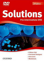 Solutions Pre-Intermediate 2nd(Second) Edition DVD-ROM (видео диск к курсу, 2-е издание)