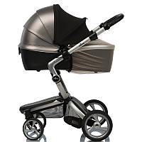 Must Have Shade ДоРечі™ 2 в 1. Солнцезащитный козырек от солнца на коляску с бежевой москитной сеткой