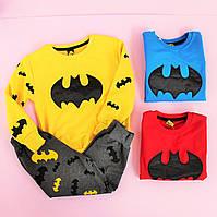 Спортивный костюм для мальчика Бетмен размер 3-4/4-5/5-6/7-8/9-10 лет