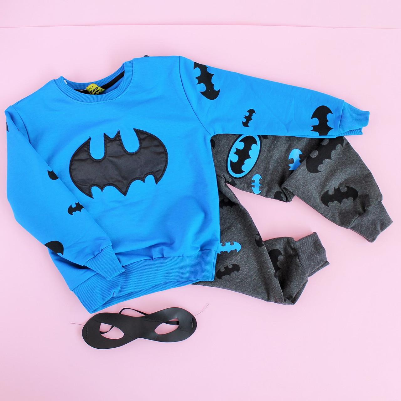 ae338432 Спортивный костюм для мальчика Бетмен размер 9-10 лет - Style-Baby детский  магазин