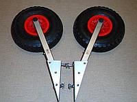 Транцевые колеса BVS КТ270 Кнопка-Пено