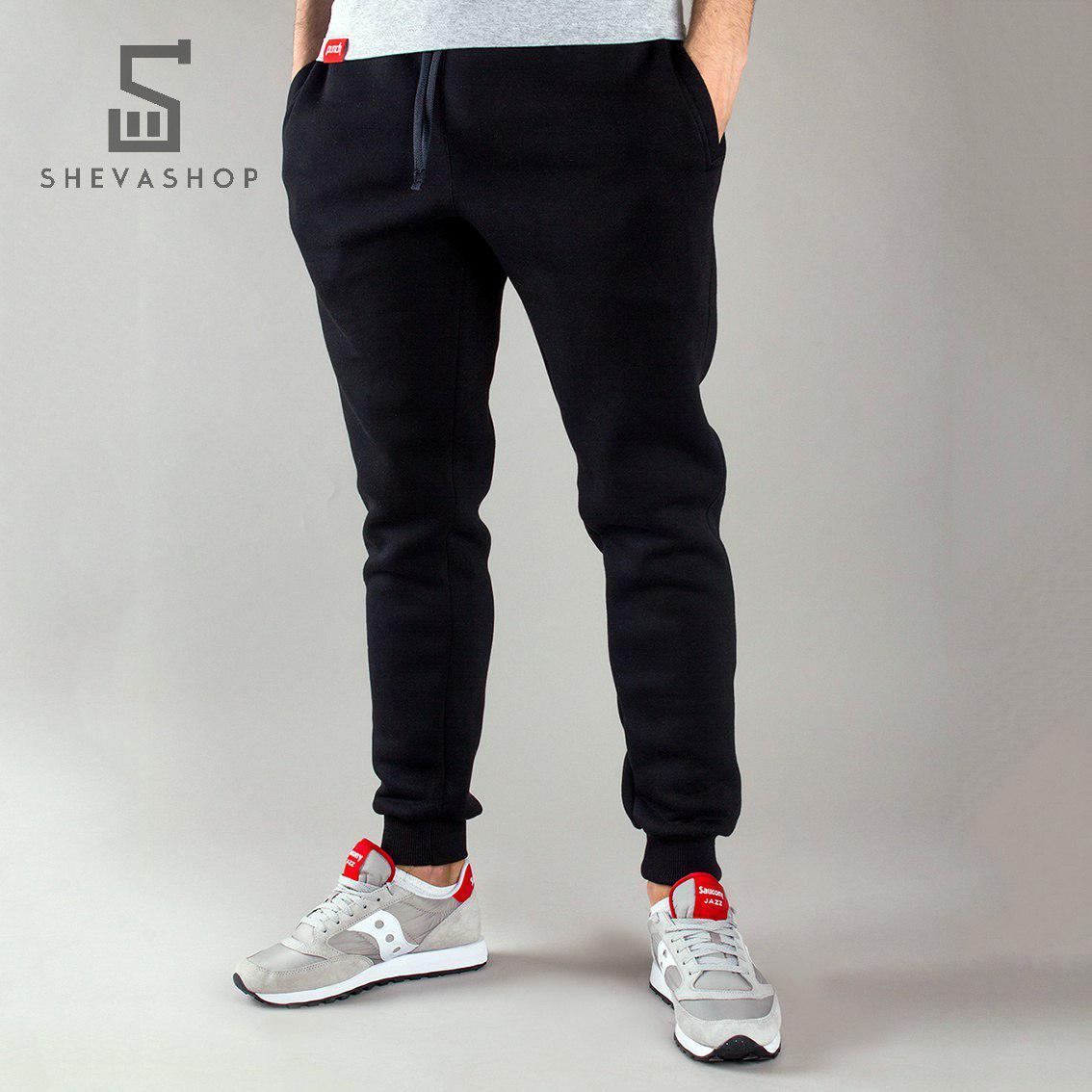 Спортивные штаны мужские Punch Jog Spring черные (Размер L)