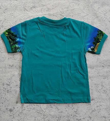 Летняя футболка для мальчиков 80,92,98,104 роста, фото 2
