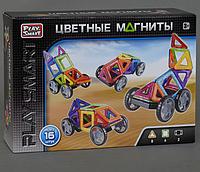 Детский магнитный конструктор на 16 деталей.Магнитный конструктор.Магнитный конструктор для детей.