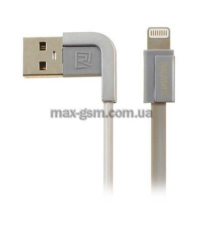USB кабель Remax Cheynn Lightning silver