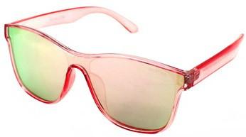 Солнцезащитные очки Avatar 18024 розовые зеркальные уценка