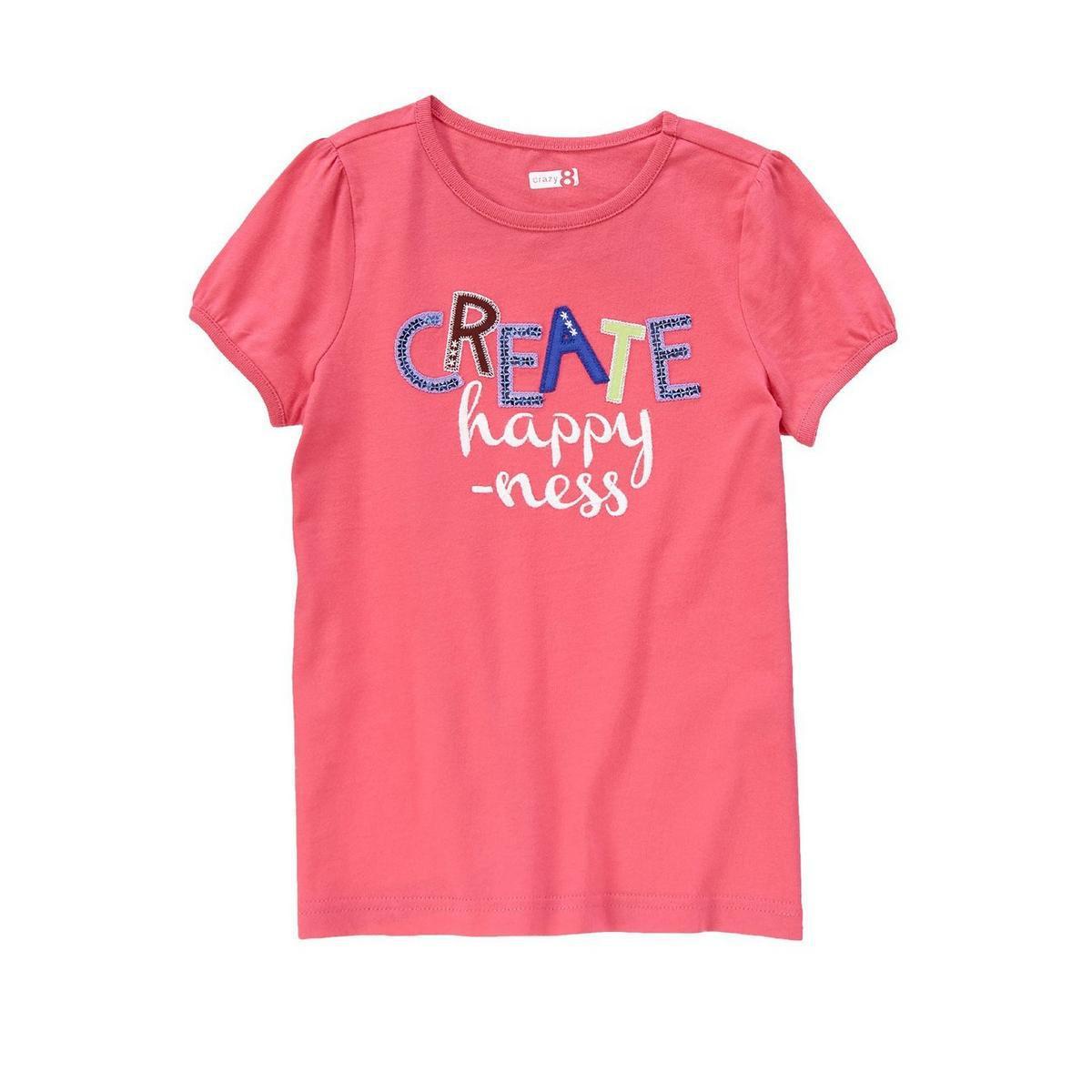 Футболка Crazy8 для девочки L (10-12) детские футболки
