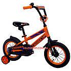 Детский велосипед Crosser Fashion 12 дюймов оранжевый, фото 2