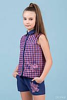 Комплект для девочки шорты и блузка