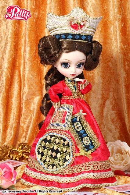 Коллекционная кукла Пуллип Алиса Классическая королева / Pullip Classical Alice Queen