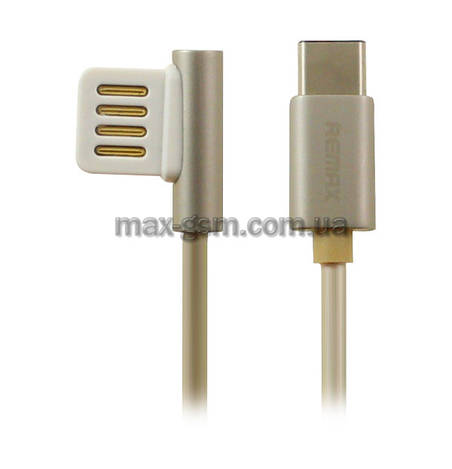 USB кабель Remax Emperor Type-C gold