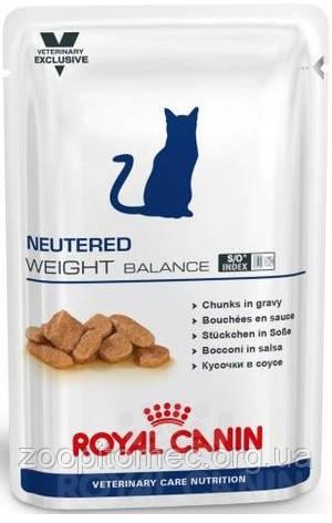 Royal Canin (Роял Канин) NEUTERED WEIGHT BALANCE консерва для кастрированных/стерилизованных кошек, 100 г