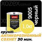 Дніпровська Вагонка № 9005 Чорний Грунт Швидкосохнучий 3,0 кг, фото 2