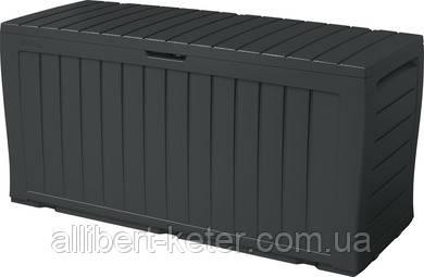 Садовий контейнер MARVEL PLUS 270 Л графіт (Keter)
