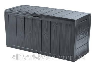 Садова скриня SHERWOOD STORAGE BOX графіт (Keter)
