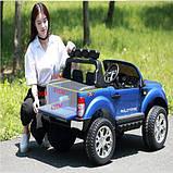 Двухместный детский полноприводный электромобиль Ford Ranger M 3573 (MP4) EBLR-1 белый,с планшетом, фото 4
