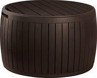 Садова скриня CIRCA WOOD 140 Л темно-коричневий (Keter)